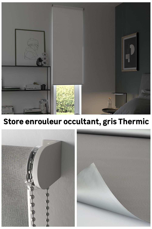 Un Store Thermique Pour Contrer La Chaleur En 2020 Stores Store Enrouleur Stores Thermiques