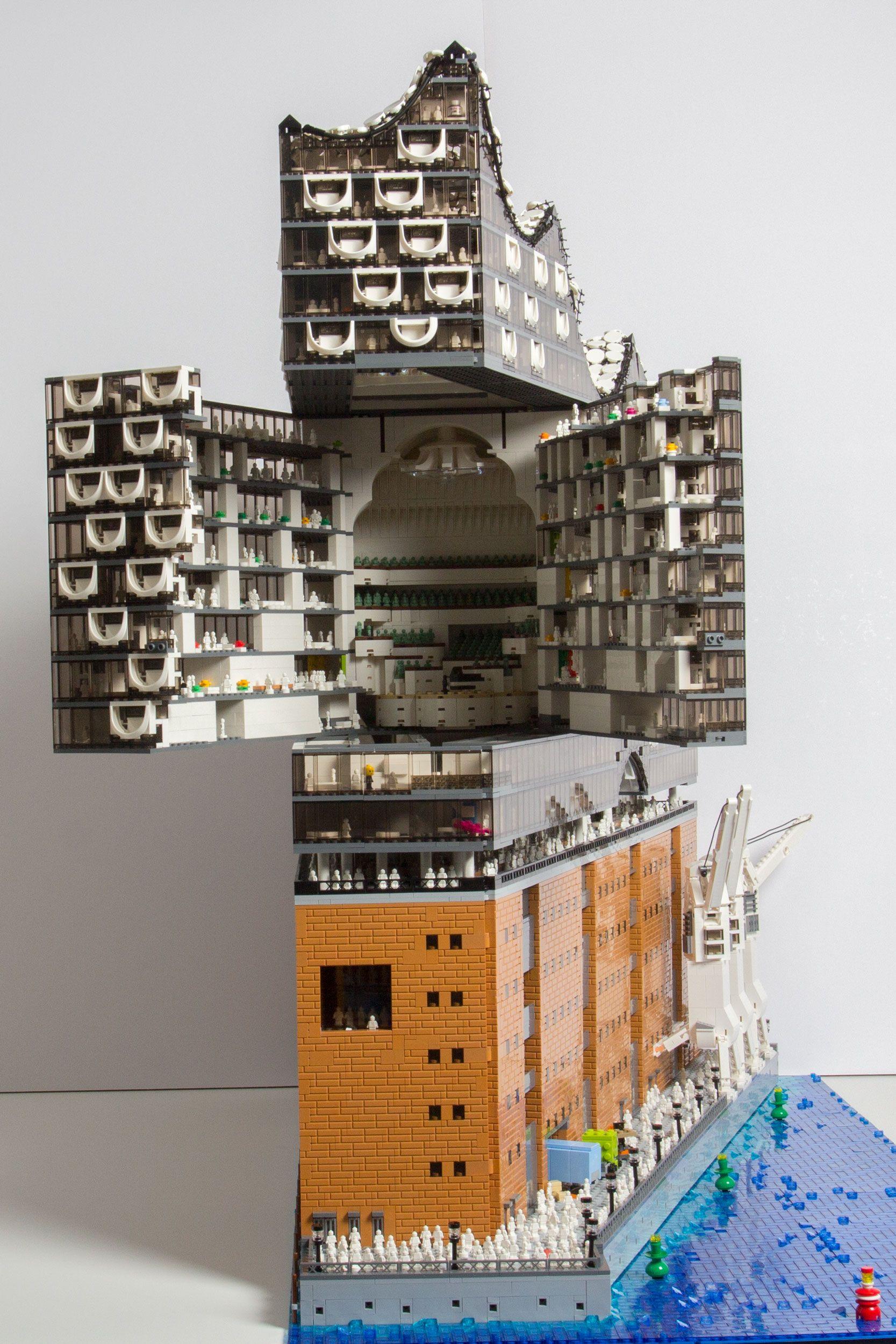 Elbphilharmonie Lego
