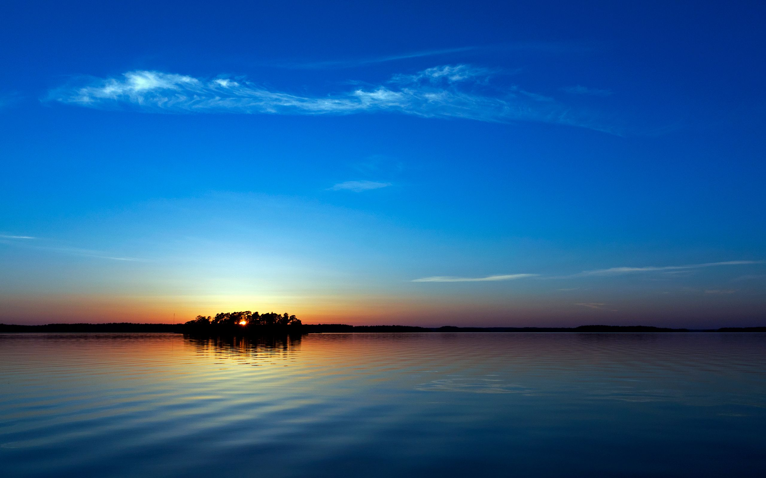 Blue sunset wallpapers hd wallpapers sunset wallpaper - Inspirational nature wallpapers ...