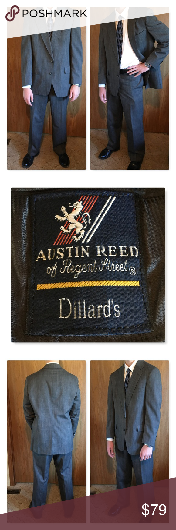 Gray Austin Reed Dillard S Suit Dillards Austin Reed Suits