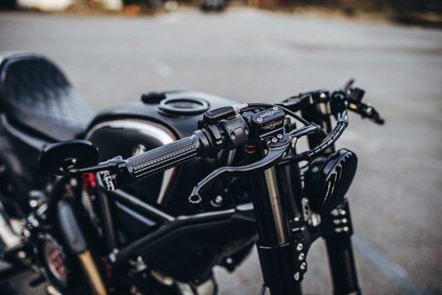 A superlight Scrambler Ducati from Rough Crafts   Ducati