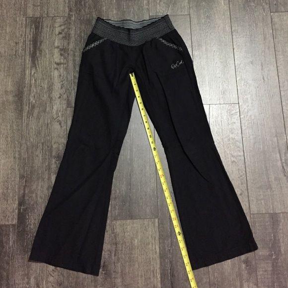 """Rip curl Linen pants 28"""" length pants, 85% cotton/15%linen, worn once, great condition, bootcut, low rise waiste. Rip curl Pants"""