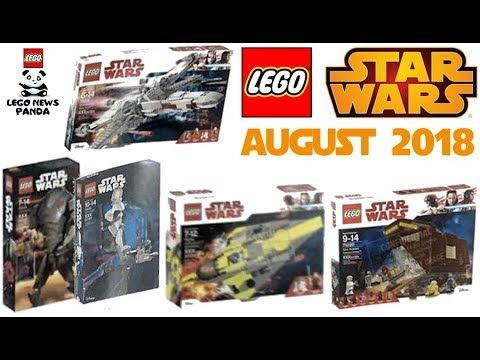 LEGO STAR WARS August 2018 Sets FIRST VISUAL LEAKED PICS | Lego News ...
