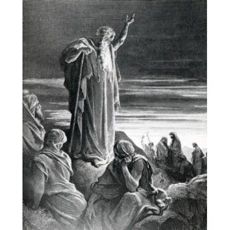 God Appears to Ezekiel Gustave Dore illustration (1832-1883) Canvas Art - Gustave Dore (18 x 24)