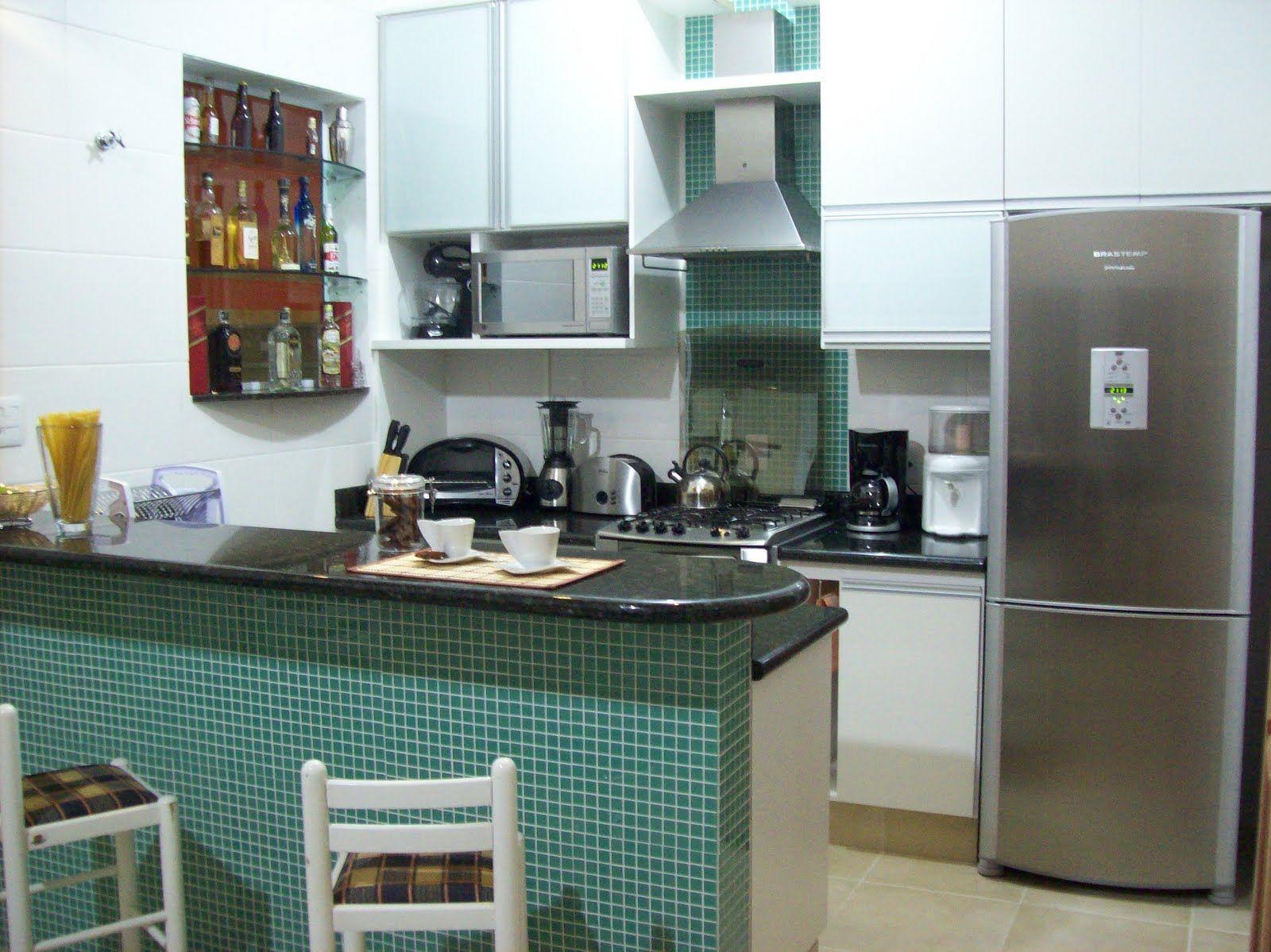 Cozinha Co_1355321220178 Jpg 1600 1199 Bolos Pinterest  ~ Modelos De Cozinha Com Balcão