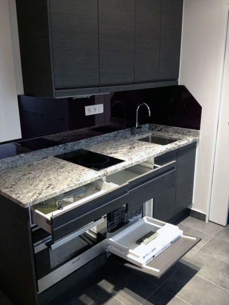france kitchenette Dernière création du0027un mini cuisine ouverte sur