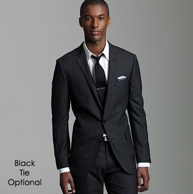 black tie optional photography black