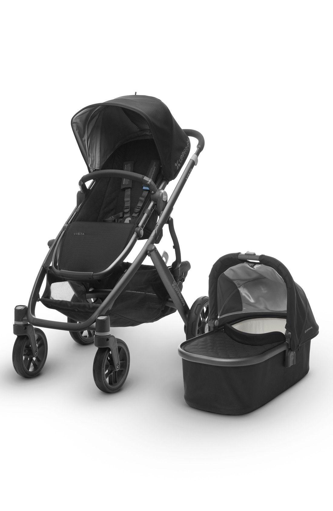 UPPAbaby 2017 VISTA Aluminum Frame Convertible Stroller