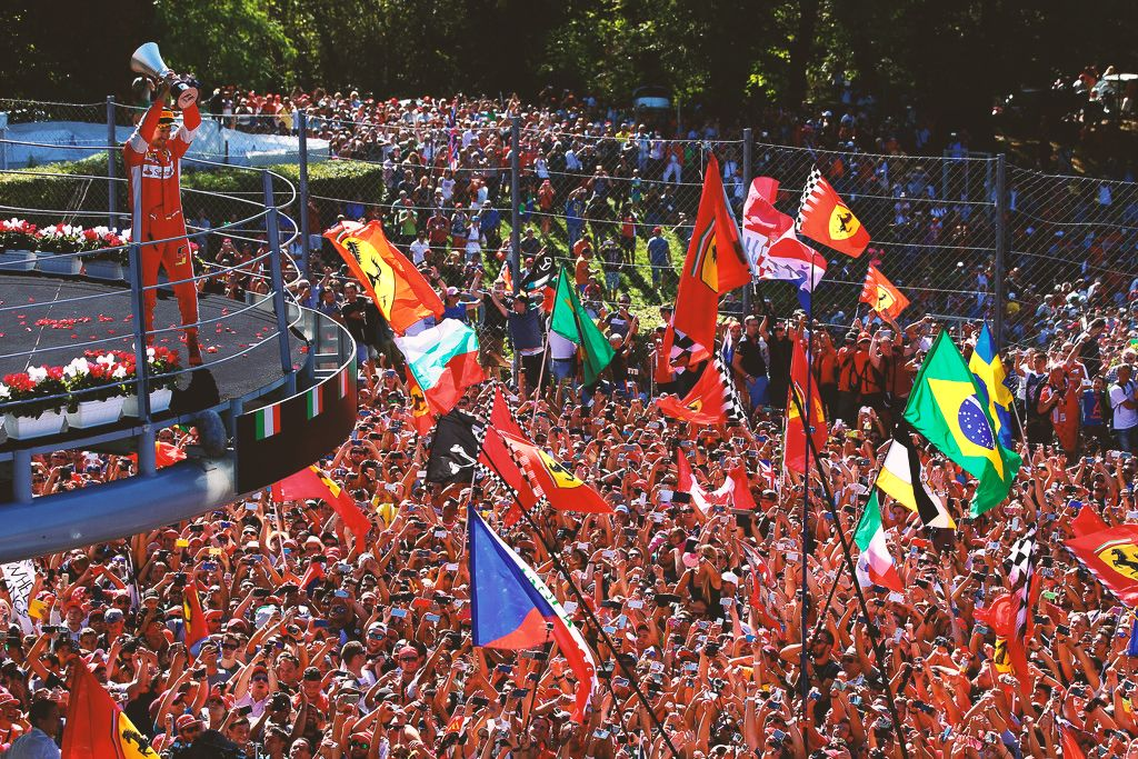 Monza Italy ... This.. is the red passion!