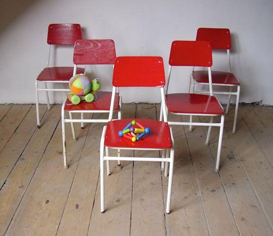 Vintage barnestoler