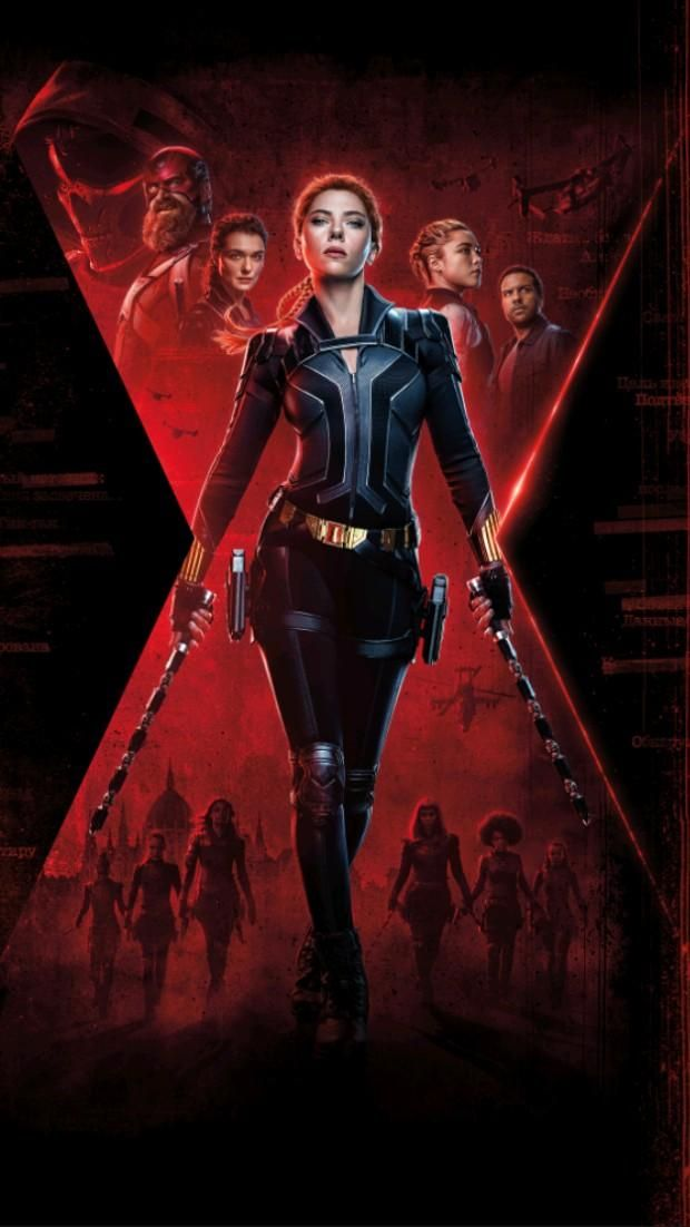 Black Widow Posters Wallpapers