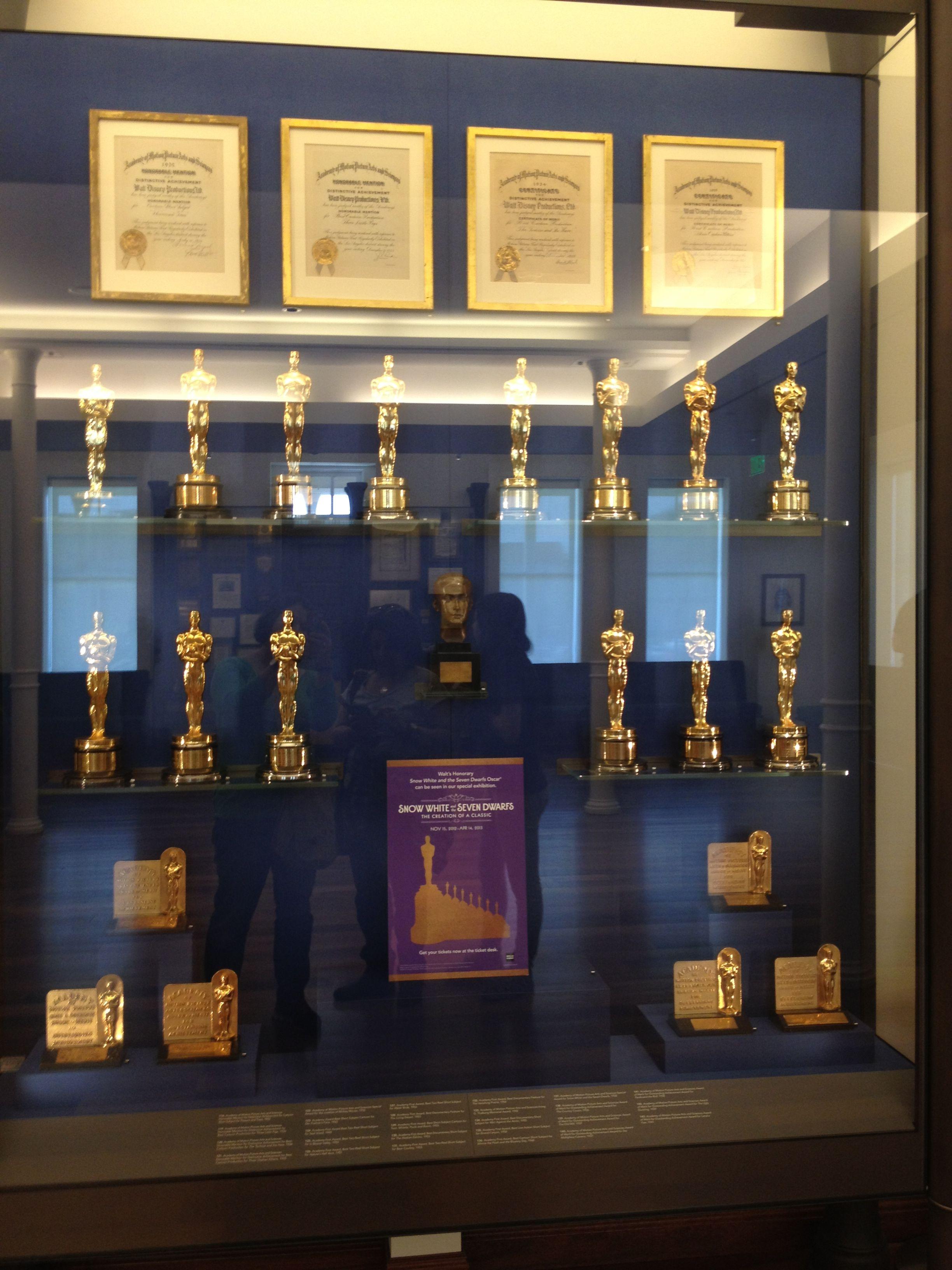 All the Academy awards Disney has won. Taken at the Disney