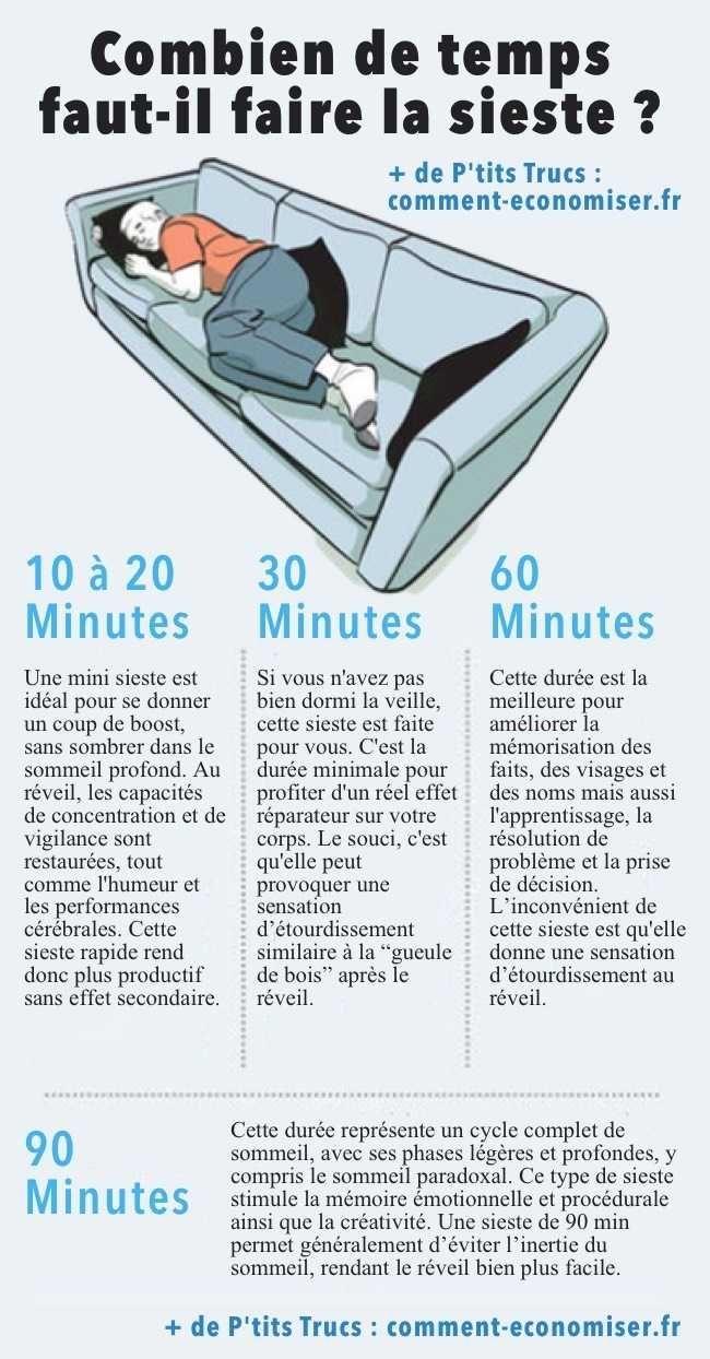 Combien de Temps Doit Durer une Sieste Pour QuElle Soit Vraiment Efficace ?