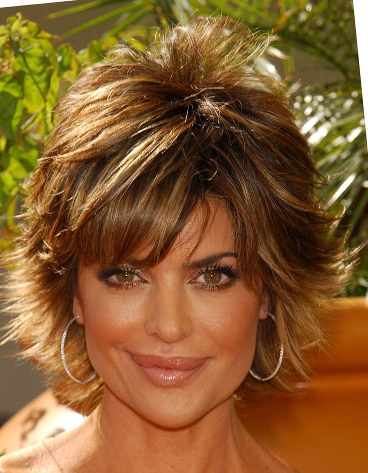 Lisa Rinna Hairstyles 2013 From The Back Lisa Rinna 12789 Haircuts For Fine Hair Lisa Rinna Haircut Hair Romance