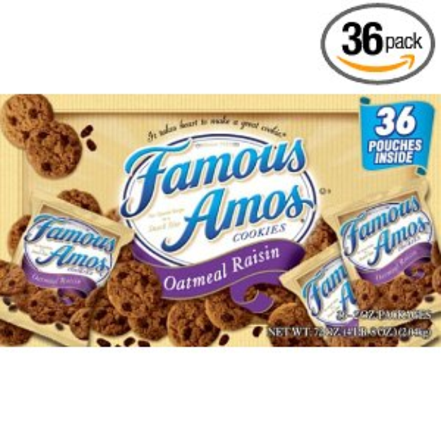 I M Learning All About Famous Amos Oatmeal Raisin At Influenster With Images Oatmeal Raisin