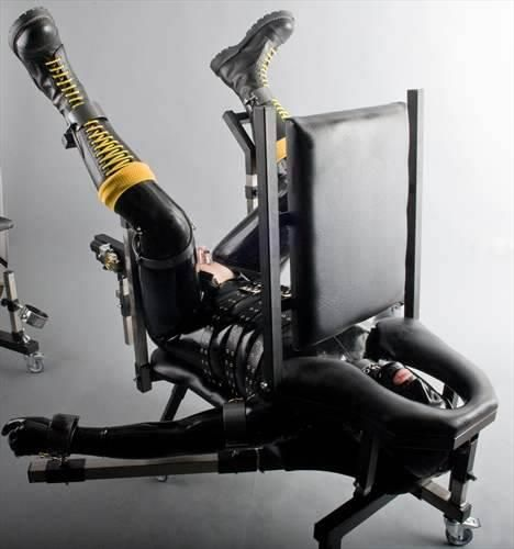 Human chair bondage