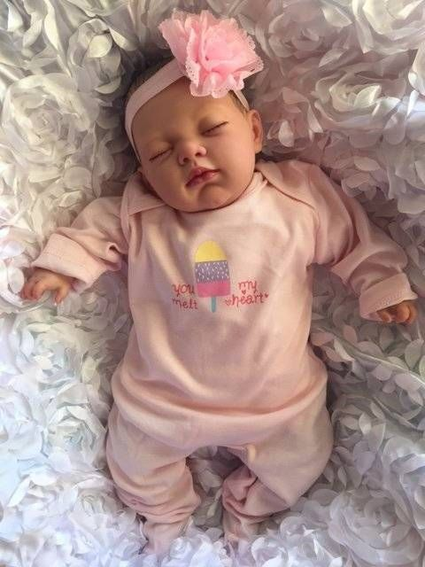 Brand New Reborn Lotty Child Friendly Realistic Newborn Fake Baby Doll Girl Fake Baby Dolls Baby Dolls Fake Baby