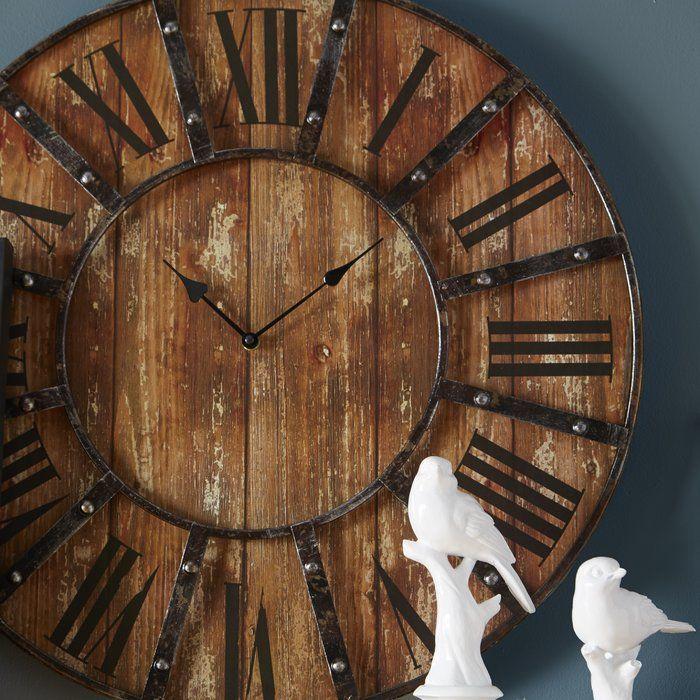 Oversized Printed 23 Wall Clock Wall Clock Oversized Wall Clock Clock