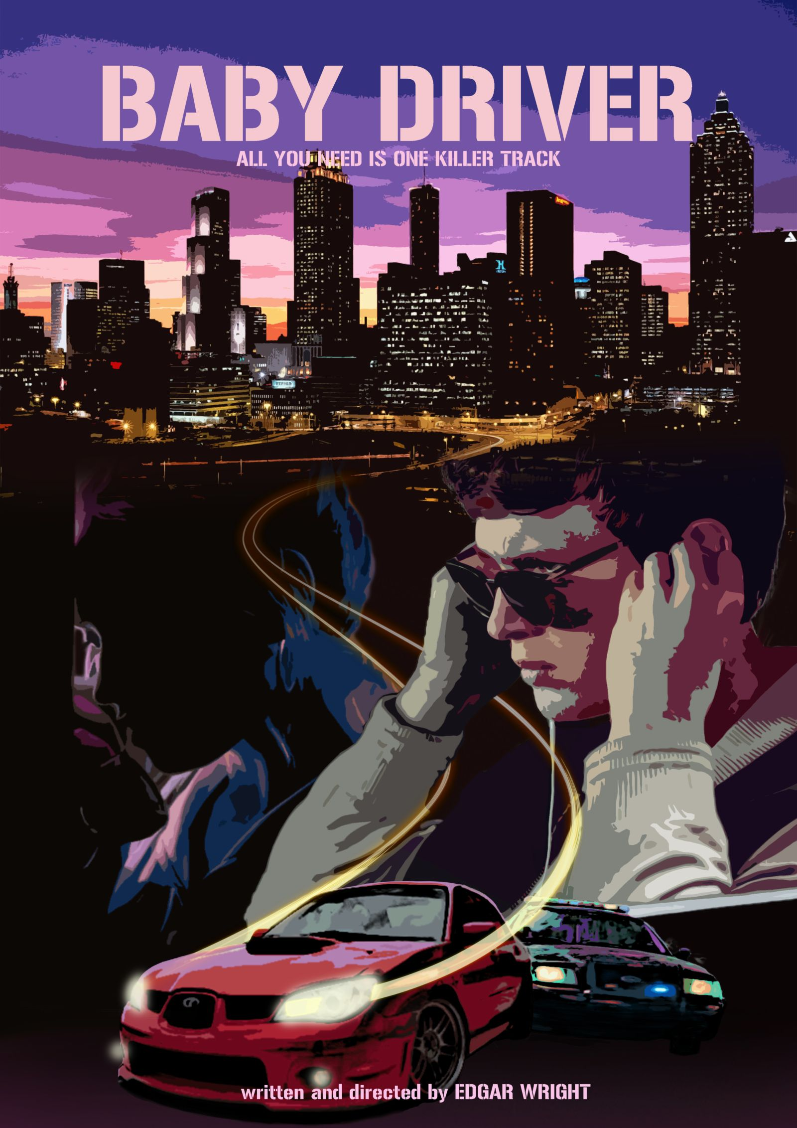 baby driver 2017 2017 baby driver movie posters baby rh pinterest com baby driver car we can't afford