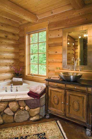 Schöne Badezimmer Designs Mit Mediterranen Und Rustikalen Stil #badezimmer  #designs #mediterranen #rustikalen