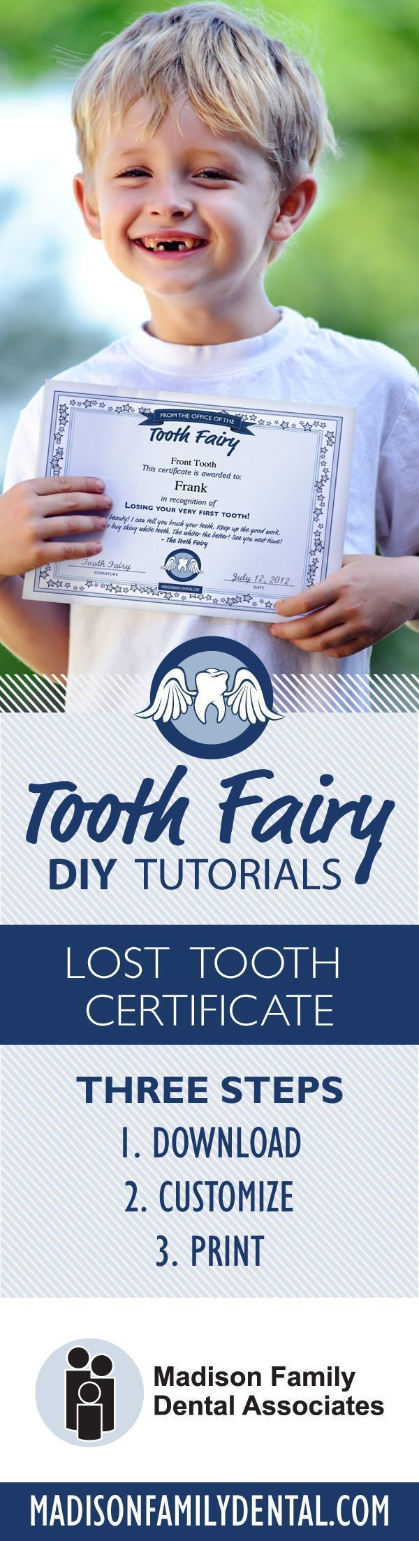 kidfriendly tooth fairy ideas to prepare for losing teeth and the much anticipated visit from the Tooth Fairy herself Customize your Tooth Fairy Certificate Template free...