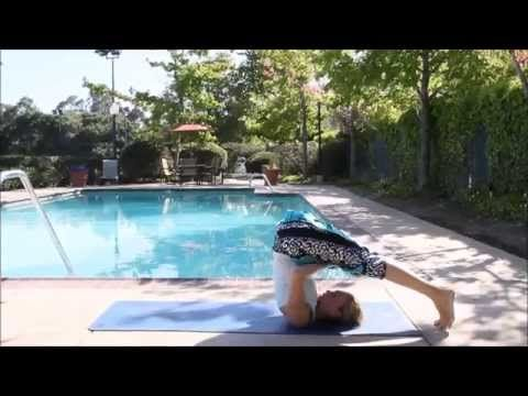 day 24  shoulder stand to plow pose  30 days of yoga