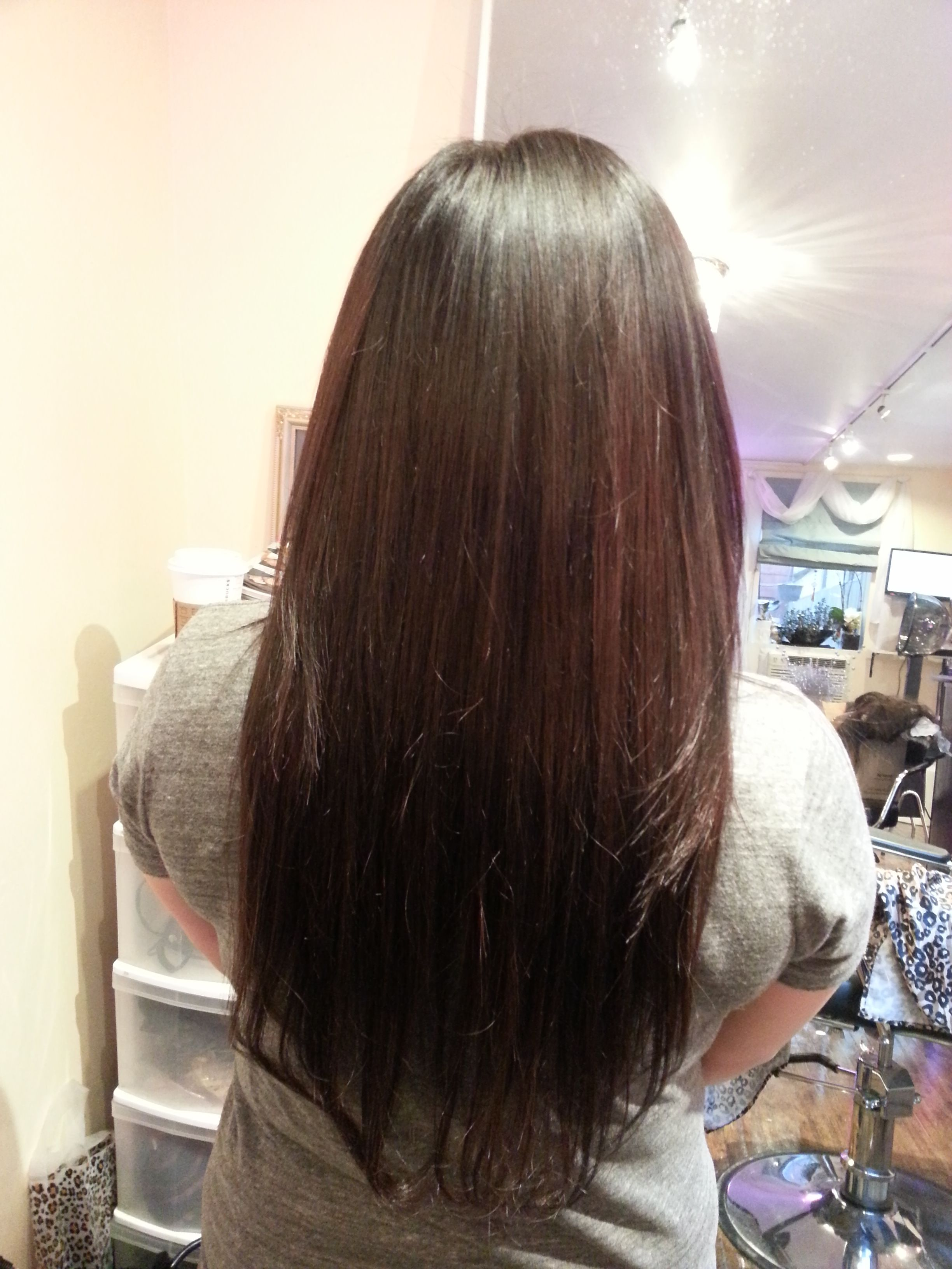 Hot Off The Press Or Client Loves Her New Colour And Extensions