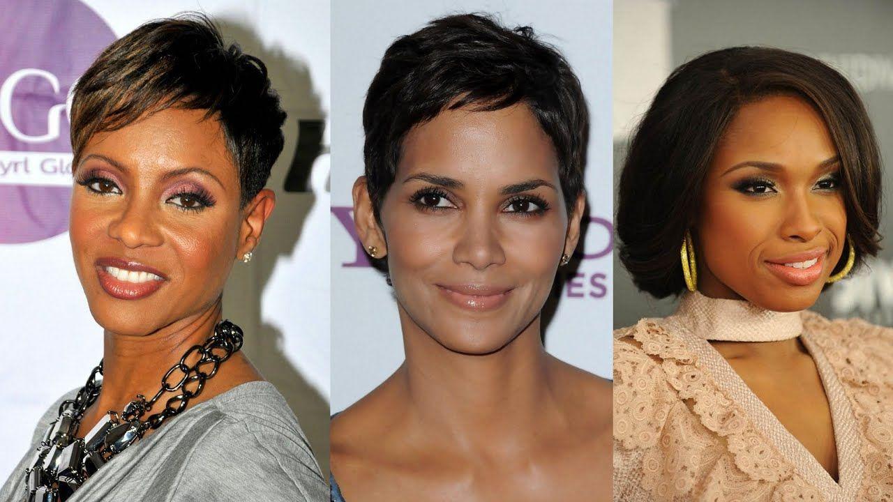 Black hairstyles for women over 50 black 50 best short