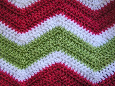 Oversized Chevron Crochet Afghan   AllFreeCrochet.com   navidad ...