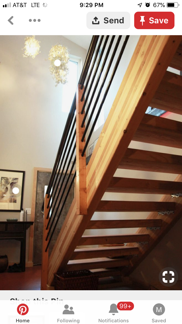 Best Pin By Scott On Flooring Stairs Farmhouse Stairs 400 x 300