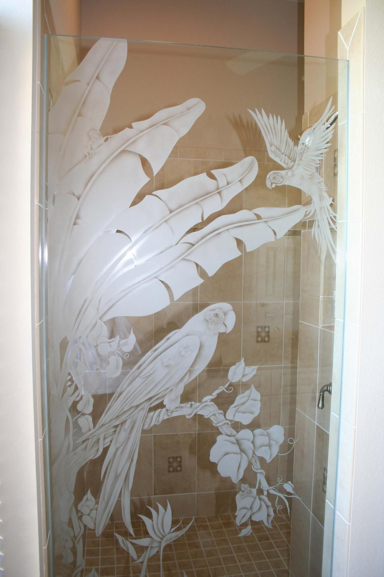 Artfully Yours Glass Studio Etched Glass Glass Etching Etched Glass Door Sandblasted Glass