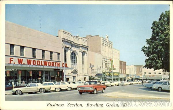 Business Section Bowling Green Photo Historical Photos