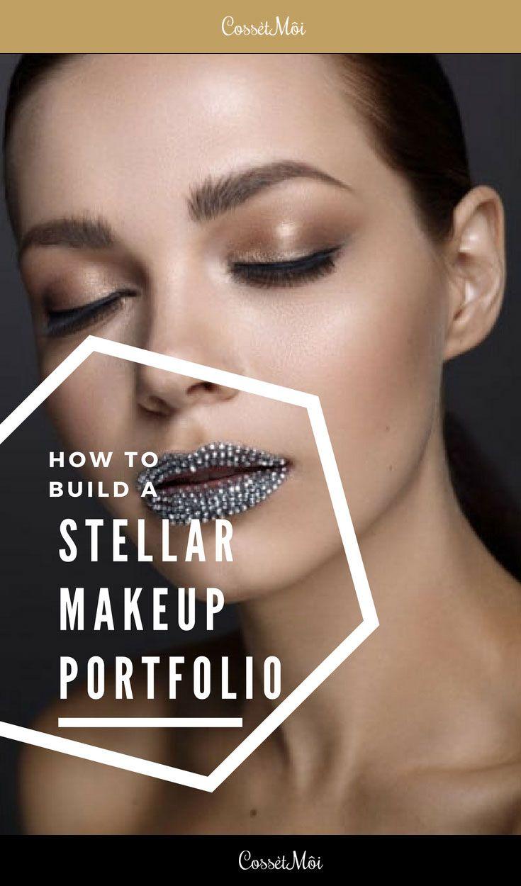 Mua Lounge How To Build A Stellar Makeup Portfolio Part 1 Cossetmoi Maquillaje Tutoriales Portafolio