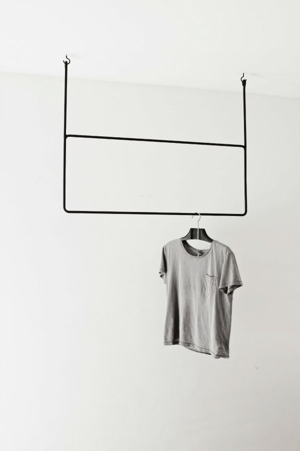 clothes on a rack ideas to steal