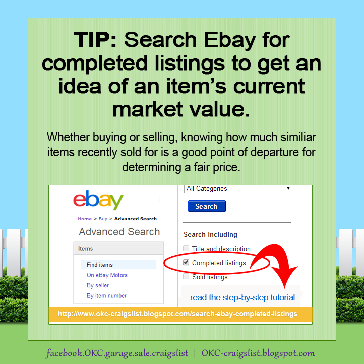 Tip What S It Worth Use Ebay Tool To Find A Fair Price In 2020 Garage Sale Tips Ebay Tool Ebay