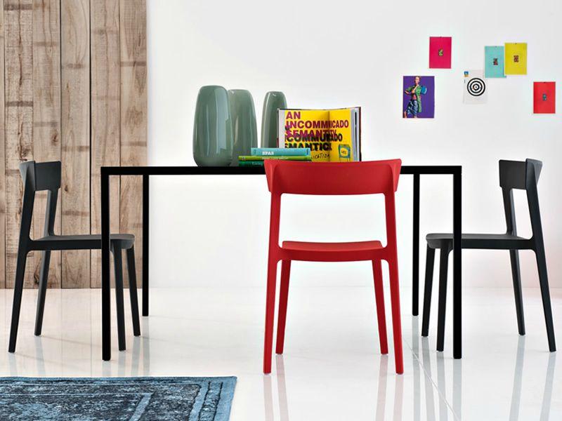 Chaises Skin de Calligaris 100 €   {Design} Sofas & Chairs   Pinterest