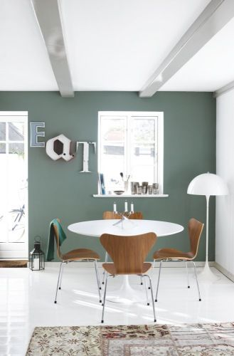 mur vert de gris ambiances d co pinterest mur vert vert de gris et mur. Black Bedroom Furniture Sets. Home Design Ideas