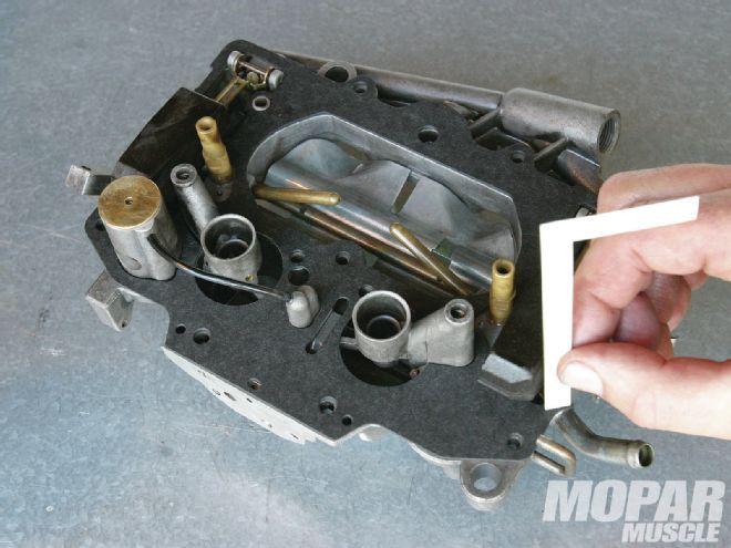 Mopp 1304 07+rebuilding A Carter Thermoquad Carburetor+