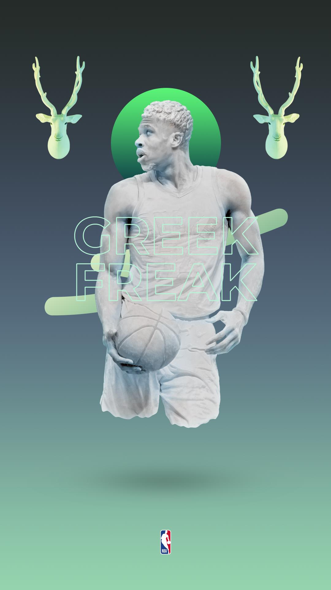 Giannis Antetokounmpo, Greek Freak NBA Wallpaper in 2020