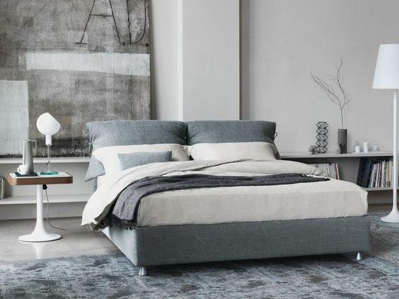 NATHALIE Letto matrimoniale by Flou design Vico Magistretti | Beds ...