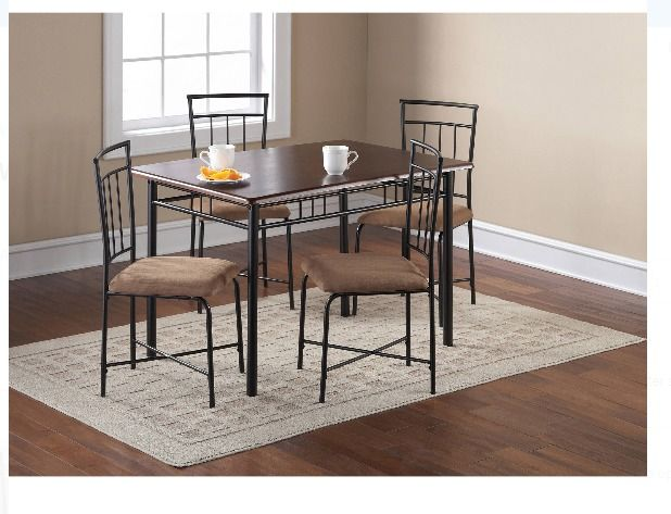 Dining Table Set For 4 Tables Small Spaces Kitchen Sets 5 Piece