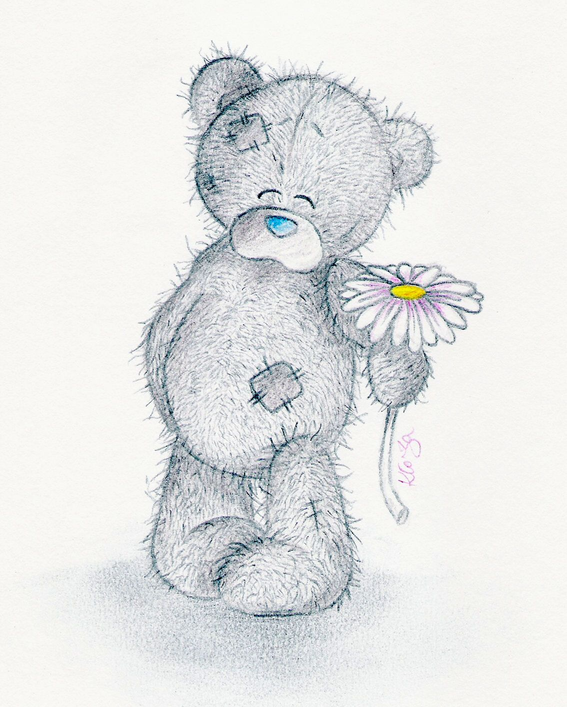 Медведь тедди картинки нарисованные