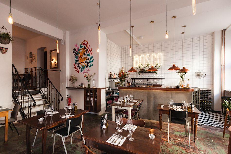 Bosco Berlin Kaffeehaus, Italienisch und Essen trinken - esszimmer im ritterhof