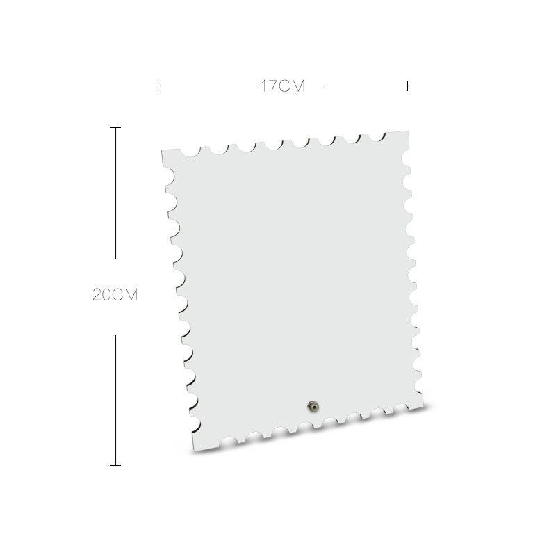 Fancy Design Jagged Retangle Shaped Blank Sublimation MDF Board ...