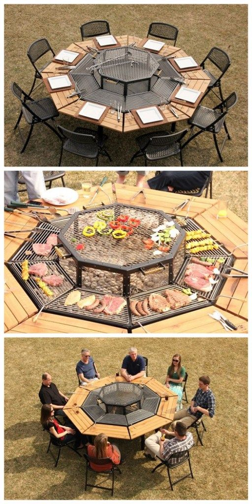 Fantastic 3 In 1 Jag Grill Firepit Bbq Table Diy Tag For The