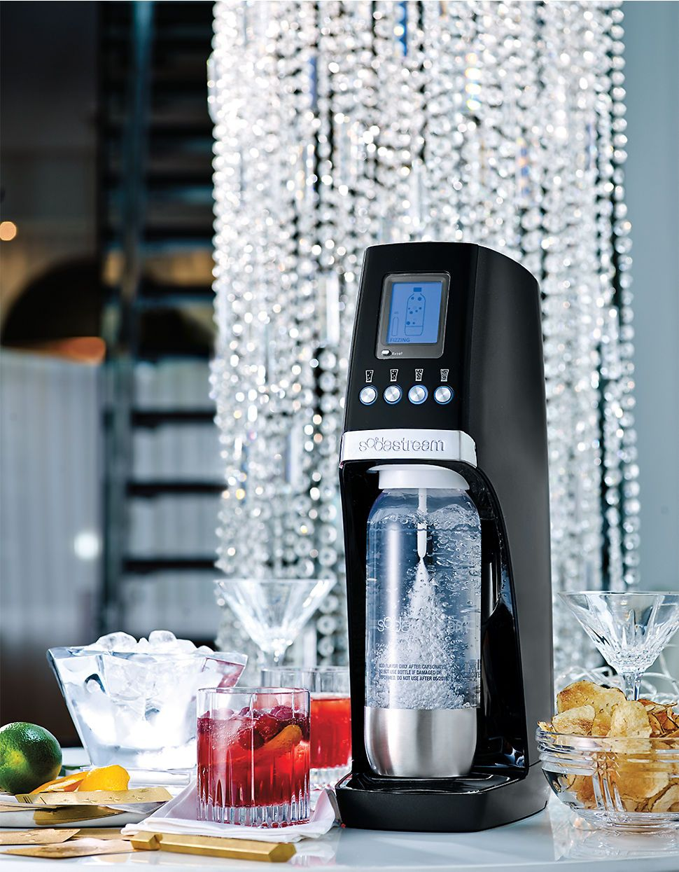 The perfect bartender for your next party by Soda Stream | Hudson\'s ...