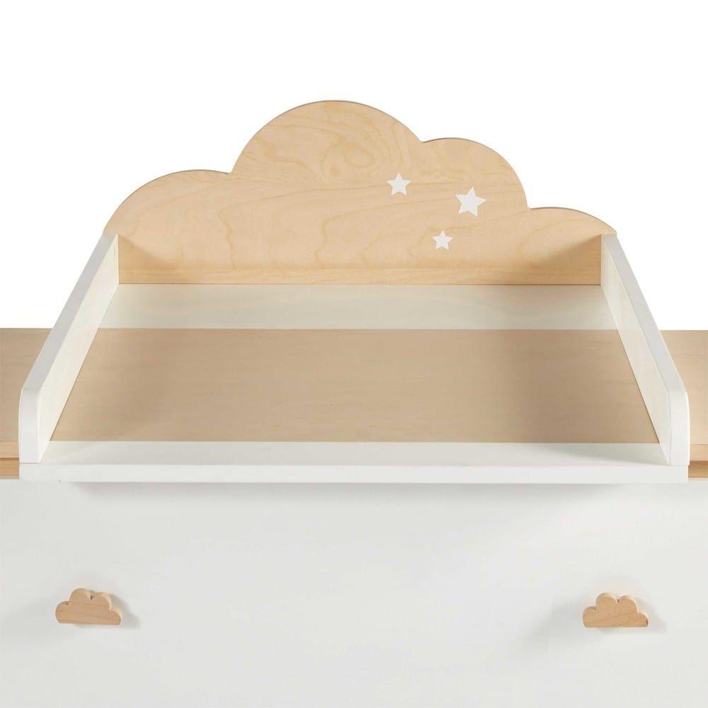 Fasciatoio nuvola bicolore com baby room decor baby for Fasciatoio fai da te