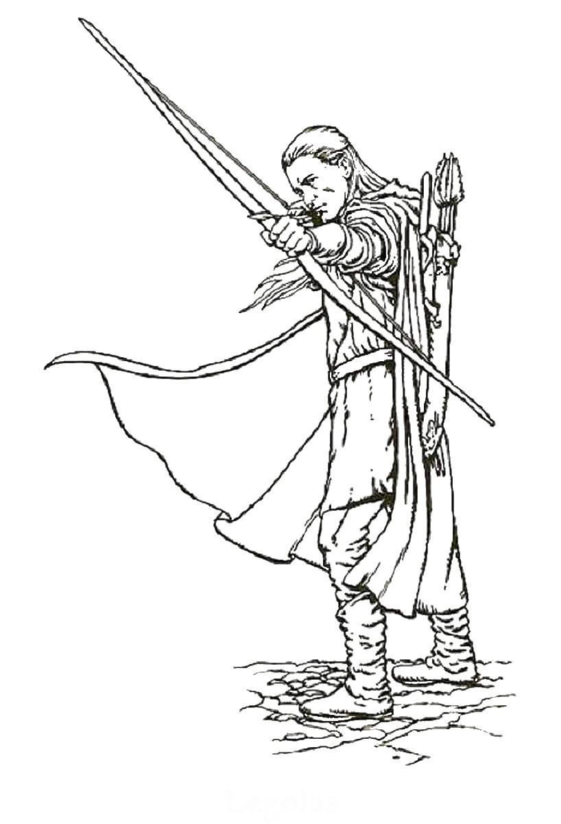 Lord Of The Rings Cl08 Jpg 818 1200 Coloring Pages Coloring