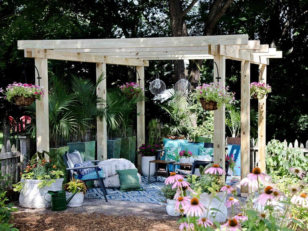 How To Build A Pergola Perfectly The Garden Glove In 2020 Building A Pergola Pergola Outdoor Pergola