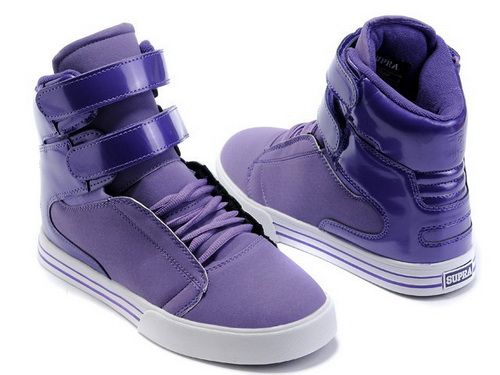 2f80a8ee5a95 Women Supra TK Society High Tops Shoes Purple White